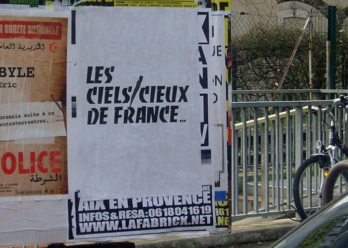 Liam Gillick, <i>Les Ciels/Cieux de France</i>, 2010